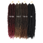 [ Style Twists Twist ] New Style Pre Looped Passion Twists Spring Twist Crochet Braid Hair Extension