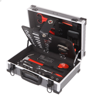 47 years production experience chrome steel combination wrench tool kit in Aluminium Case
