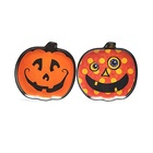 Halloween melamine cheap wholesale home decor serving dishes dinnerware pumpkin plate custom printed wholesale dishes