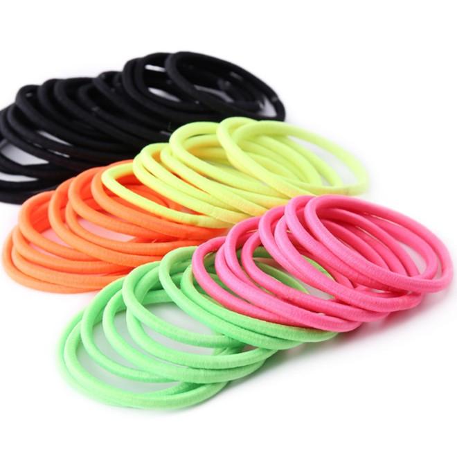Elastic hair tie assorted girls  hair band