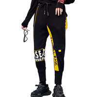 2019 Hot Sale Top hip hop styl womens pants black Fashion pants