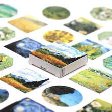Новинка 2020, Kawaii Ukiyo Раскрашивание Васи-ленты, DIY планер, малярная лента, стикеры Липкая лента, Декоративные Канцелярские Ленты(Китай)