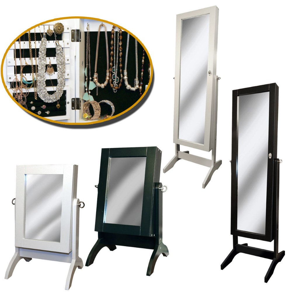 E1 compõem espelhado do armário de MDF para a jóia para móveis de casa
