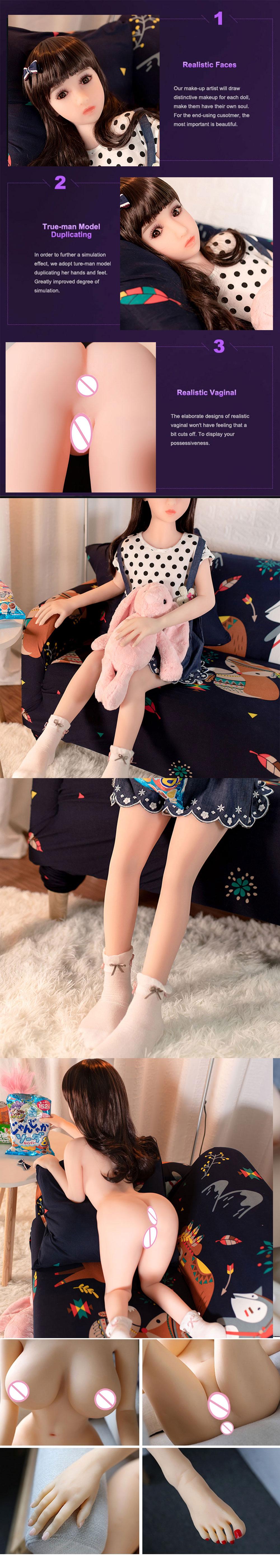 Günstige Sex Puppen Silikon Loli Kleine Brust Junges Sexy Realistische Silizium Sex Puppe Loli Für Männer