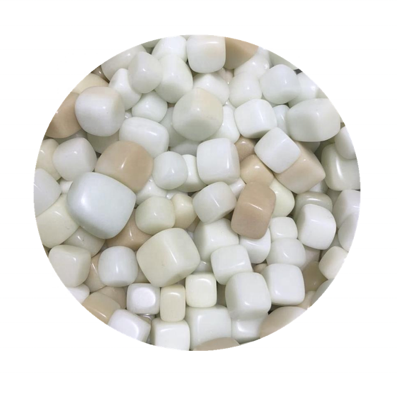 Natural quartz polishing luminous stone cube healing crystal gravel
