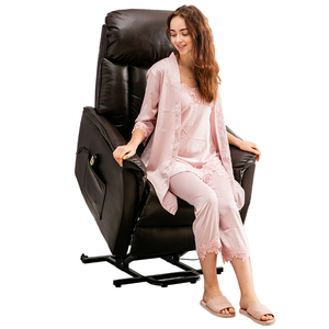 Modern Leather Reclining Old Person Recliner Electric Power Single Sofa Luxury Massage Remote Control Lift Chair For Elderly