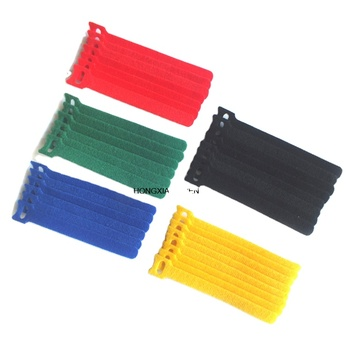 Top quality flexible garment industry hook and loop cable ties