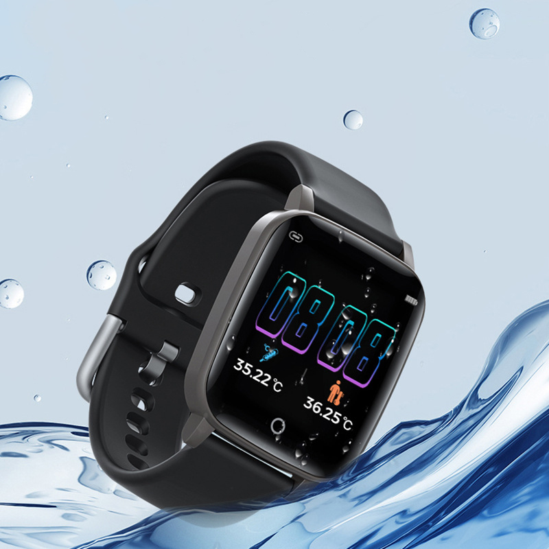 body temperature monitoring smart watch bracelet smartwatch band with temperature sensor