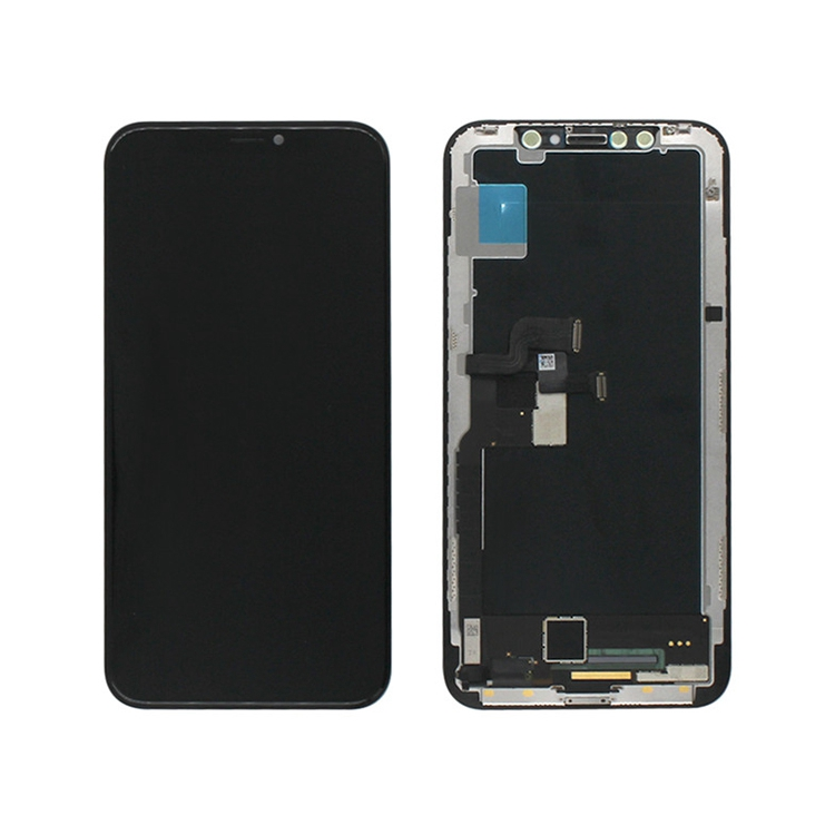 For Iphone X Xs Xr Foxconn Original Screen Lcd Display Oem Touch Digitizer Replacement China Phone Spare Parts Replacement