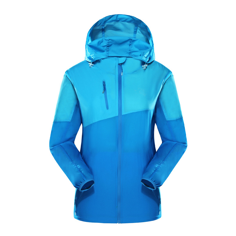 Outdoor Skin Jacket Anti UV Jacket Coat Men Sun Protective Nylon Windbreaker wholesale cheap bulk