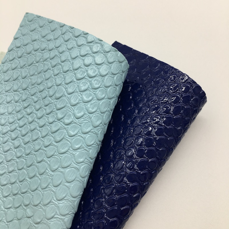 Embossed crocodile skin PU faux <strong>leather</strong> for making lady bags and shoes materials