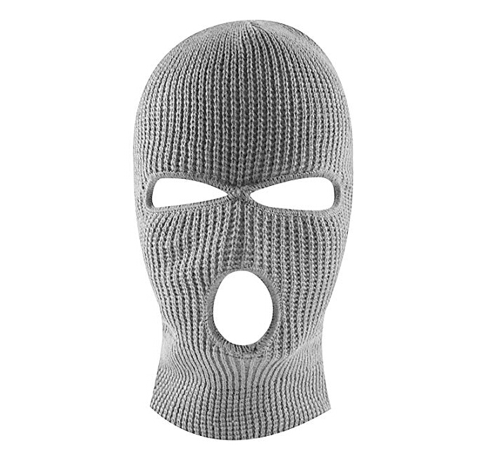 Knit Sew Outdoor Full Face Cover Thermal Ski Mask winter  balaclava keep warm