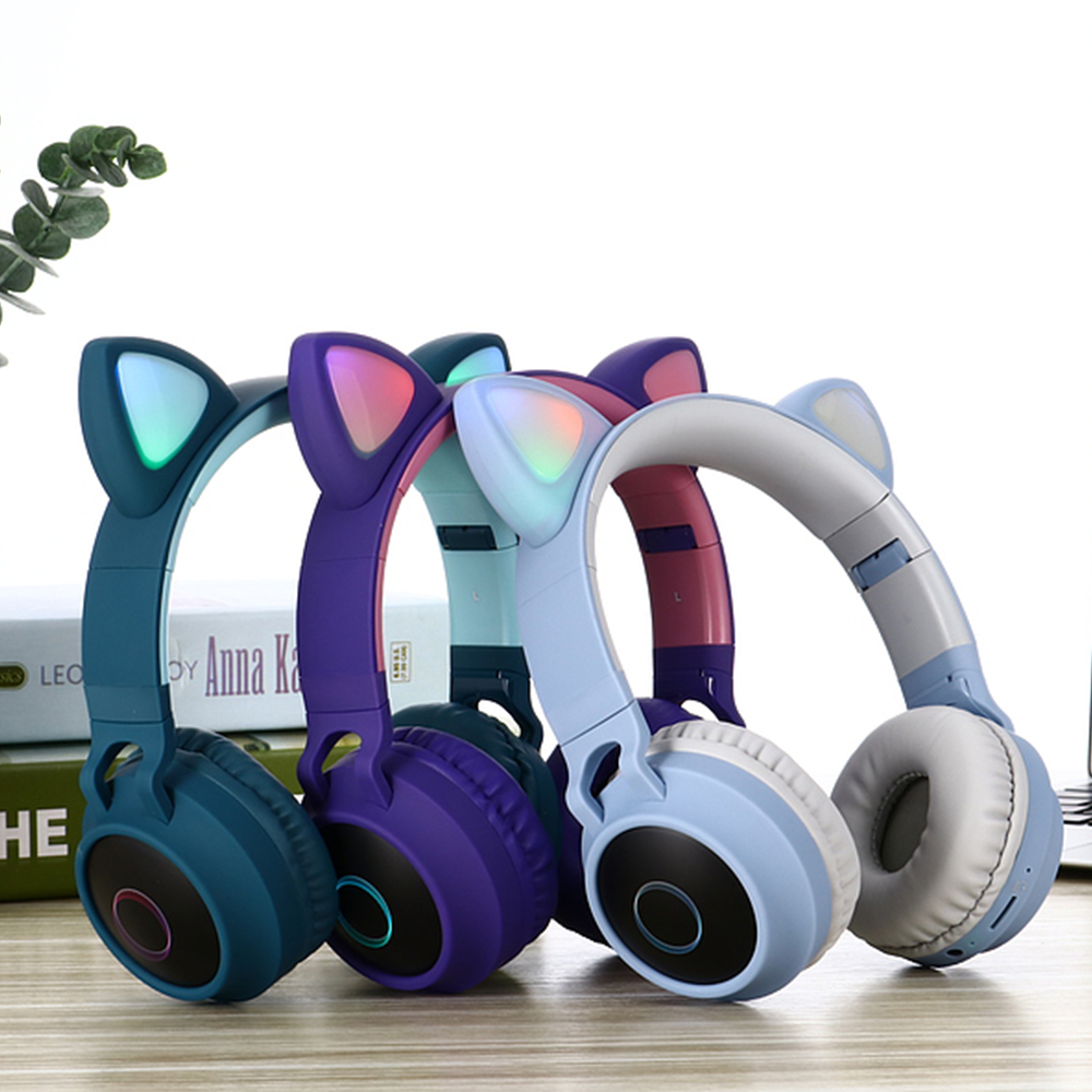 Girls Like Stylish Music Cat Ear Over The Ear Anc Bluetooth Headphone Buy Anc Bluetooth Headphone Stylish Headphone For Girls Over The Ear Headphone Product On Alibaba Com