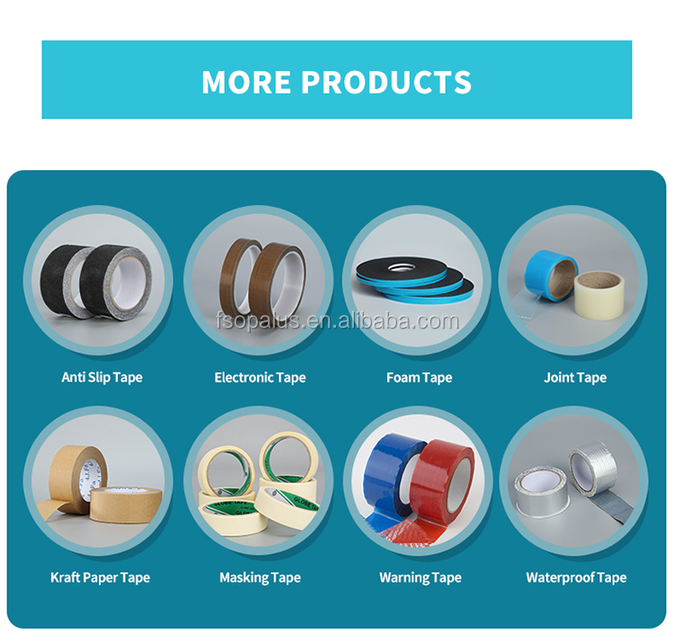 Bopp Cinta Adhesiva Opp Adhesive Shipping Packaging Cello Clear Packing Tape