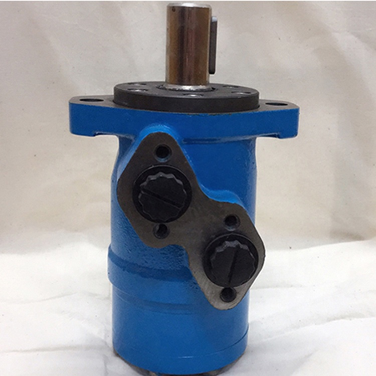 MP with corrosion resistant M+S hydraulic motor used under water