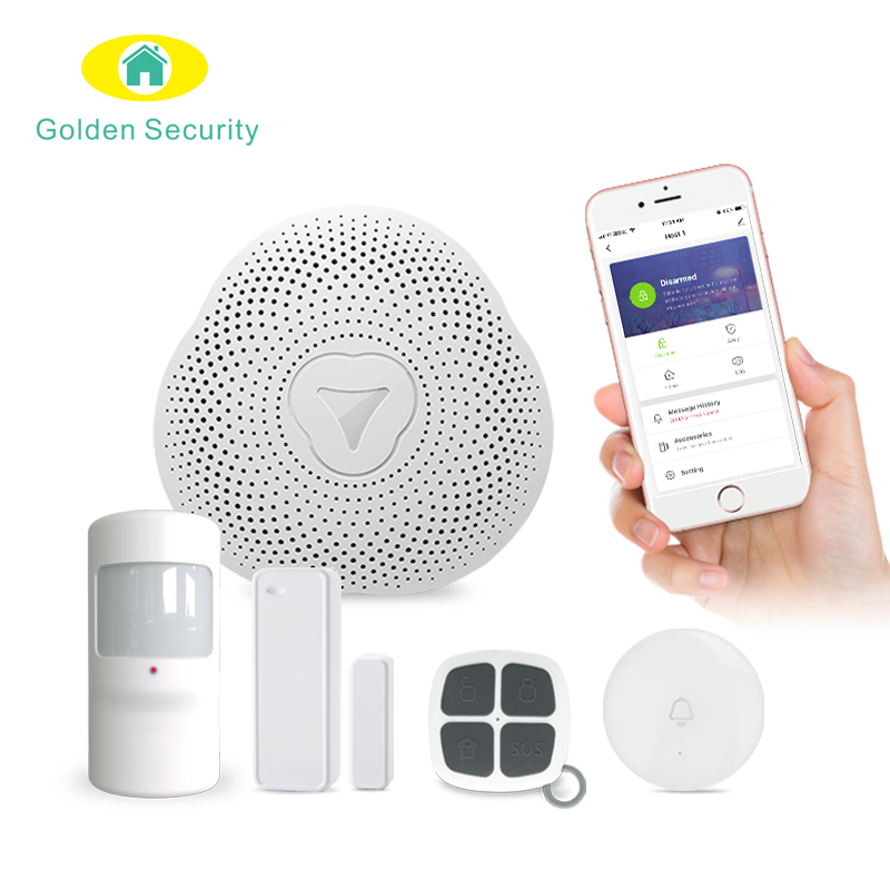 Tuya Smart Leven App controle WiFi gateway voor smart home automation systeem en home security alarm systeem