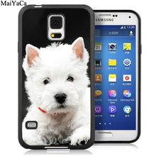Чехлы для телефонов MaiYaCa West Highland Terrier Westie Dog для samsung Galaxy S6 S7 edge S8 S9 S10 Plus Lite Note 9 8 задняя крышка чехол(Китай)