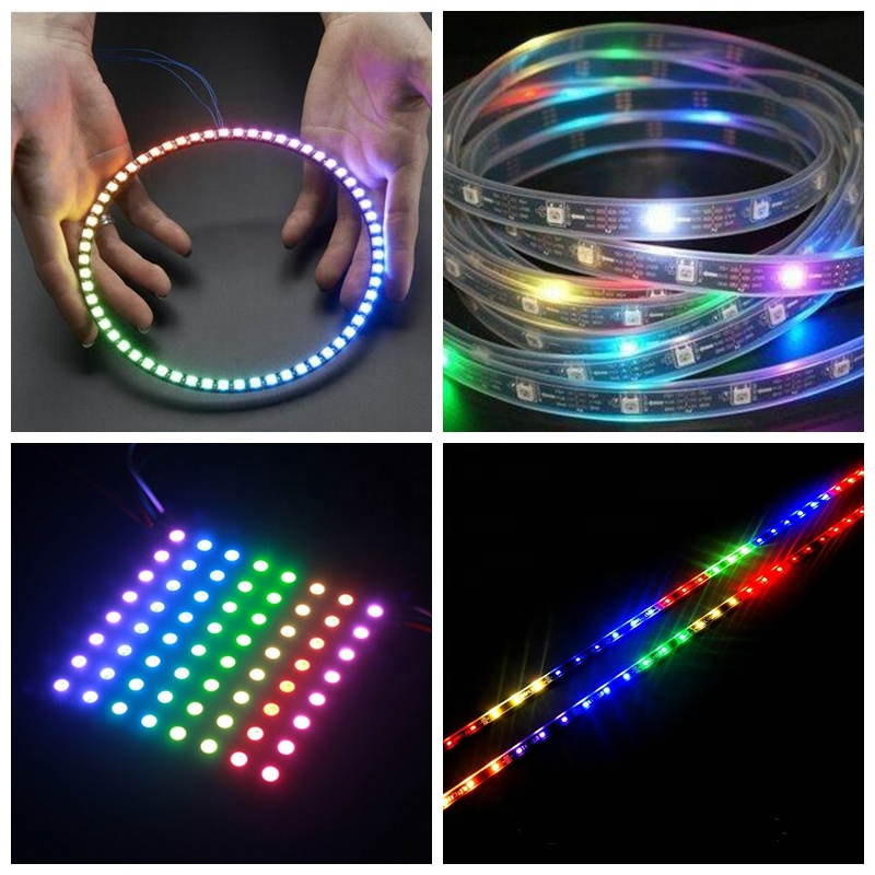 5050SMD RGB ws2812b led chips dv5v