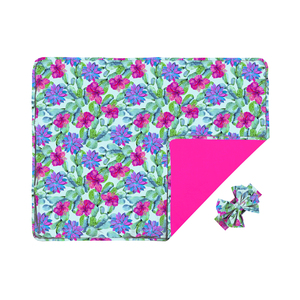 cactus flower minky blankets baby blankets 2019 soft new born baby blanket for buggy or car seat