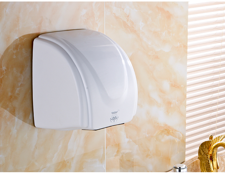 China factory commercial bathroom ABS plastic electric infrared sensor smart Hand Dryer hand drier Automatic