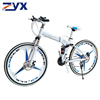 White mountainbike
