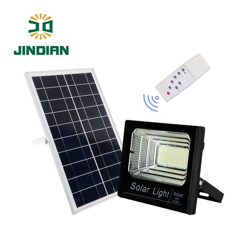 Jindian Jd 8200 200w Solar Light Remote