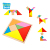 New Design Children Blocks Challenge Games Kids 3D  Magnetic Tangram Toys Wooden Puzzles