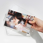 "4x6"", 5x7"" Wholesale Magnetic Acrylic Picture Photo Frame for Decoration"