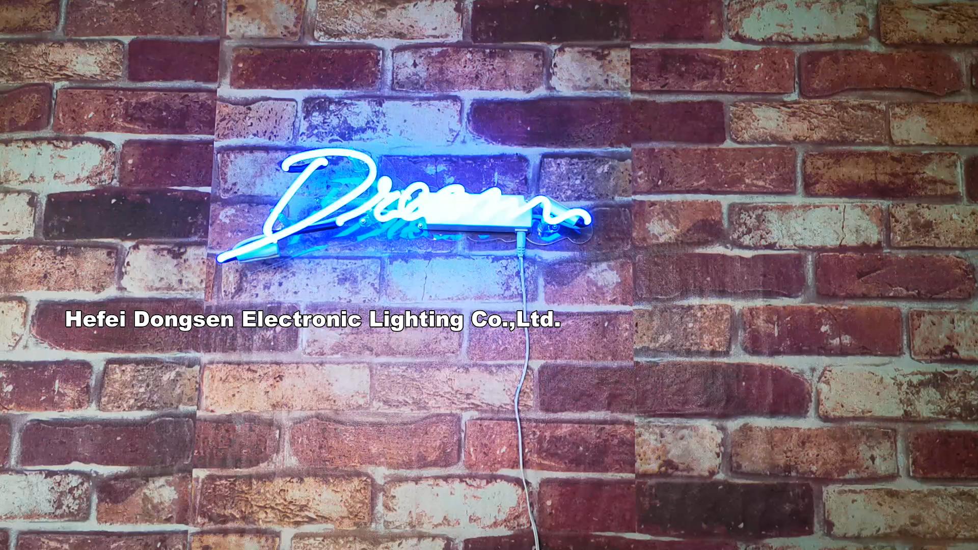 Toptan ev dekoratif neon burcu rüya