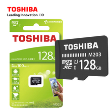 Original TOSHIBA M203 <span class=keywords><strong>Micro</strong></span> SDHC Karte <span class=keywords><strong>128GB</strong></span> mit Adapter Lesen 100 MB/s für mobiltelefon