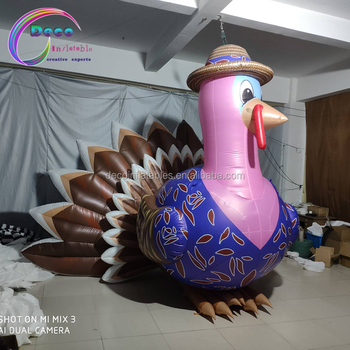 thanksgiving giant inflatable turkey for advertising