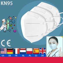 Hot Sale Stock CE FDA Certification Anti Virus Protective Disposable N95 Face Mask