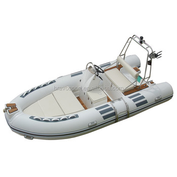 China 480 4.8m Hypalon Rigid Sport Speed Inflatable Fiberglass Rib Boat