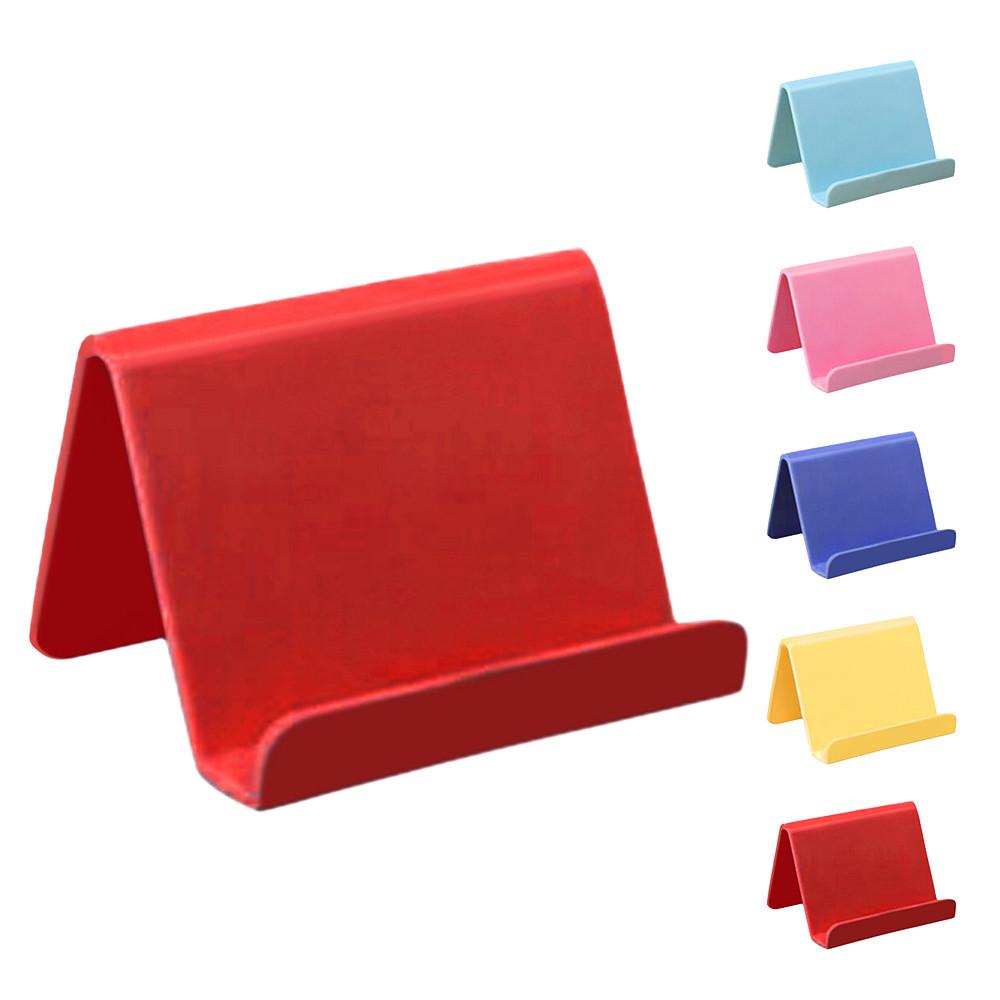 Custom printed logo smart cell phone desk holder for mobile cell phone