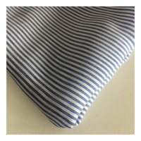 Yarn dyed stripe tencel cotton linen fabric