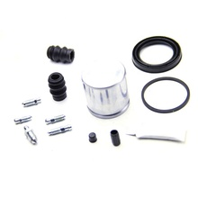 Auto-onderdelen 6 Potten Remmen Kit <span class=keywords><strong>Schijfrem</strong></span> D41082C Grote <span class=keywords><strong>Reparatie</strong></span> Kit Remklauw 4 Zuiger Remklauw Cover Rubber pakking