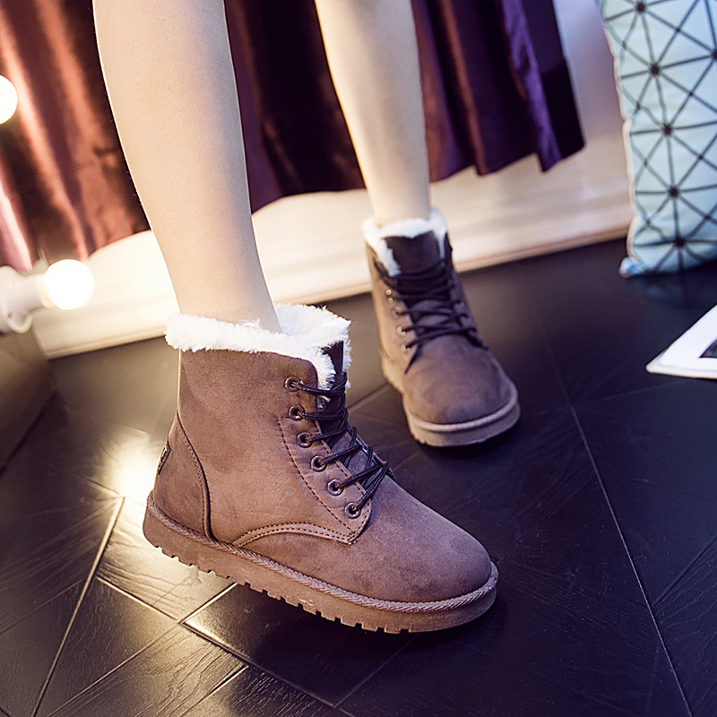 2019 latest winter thermal boots for women flat non-slip cushioning cotton boots for women