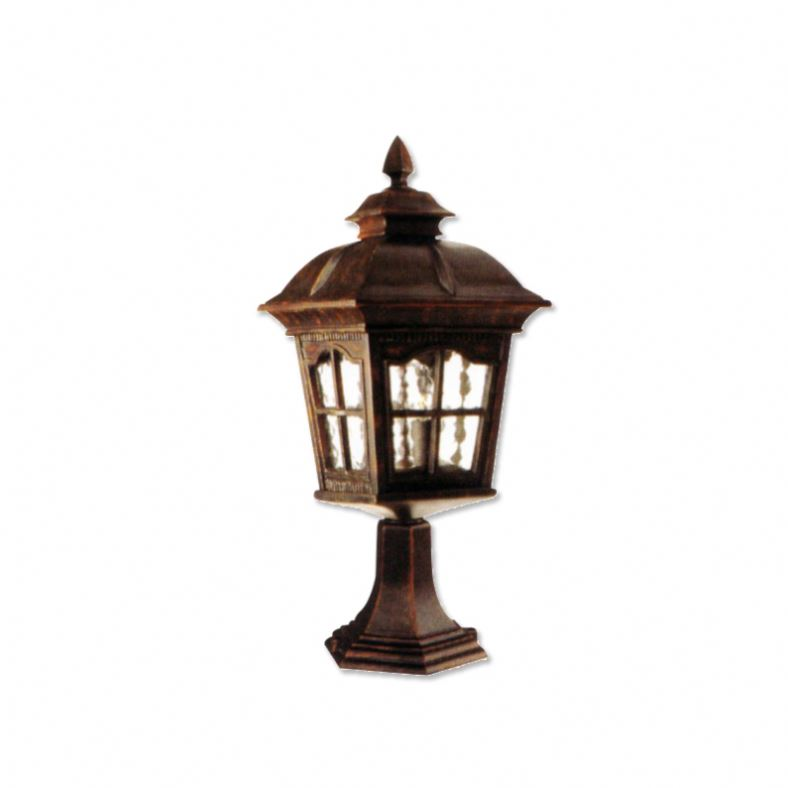Decorative E27 Galvanized Outdoor Post Uk Outside Light Fittings Garden Path Lights Electric