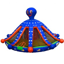 Inflables <span class=keywords><strong>pulpo</strong></span> Casa de rebote <span class=keywords><strong>pulpo</strong></span> puente inflable moonwalk castillo inflable para la venta
