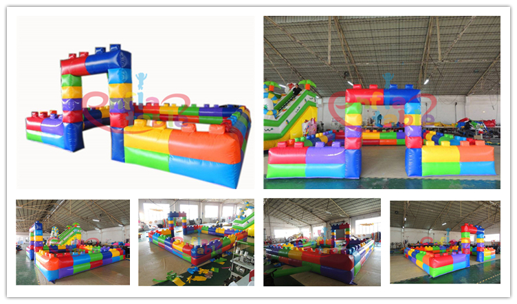 Park Playground Inflatable Fence For Sports Games