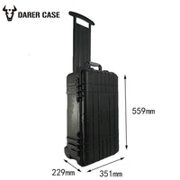 DPC112 foam padded hard plastic tool cases for camera