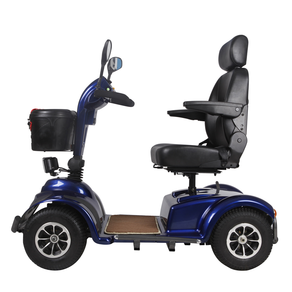Best 24V/1000W Brush handicapped Electric Mobility scooter with 4 wheel with PG 120A controller