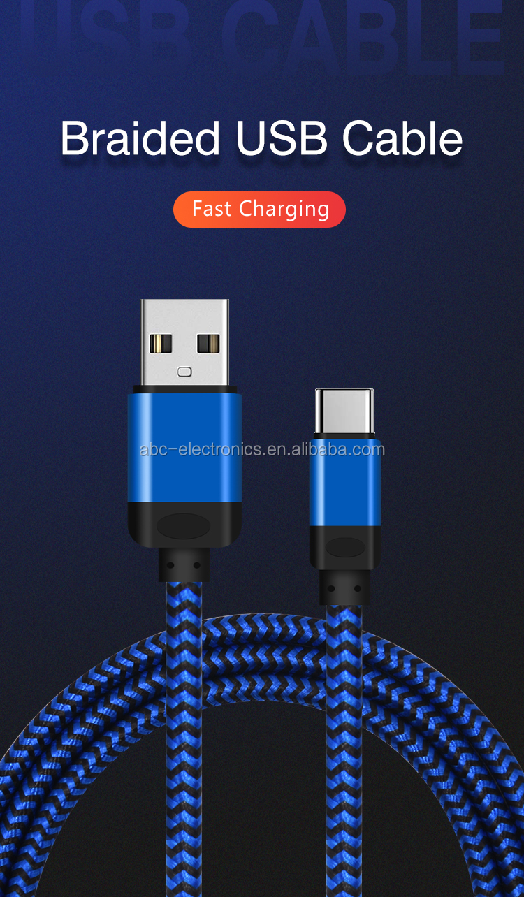 Super fast charging speed Micro USB Cable super thick big OD USB Cable for iPhone original charger ready to ship