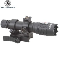 Vector Optics Magnus Green Laser Designator Flashlight w/ Scope Ring & QD Mount