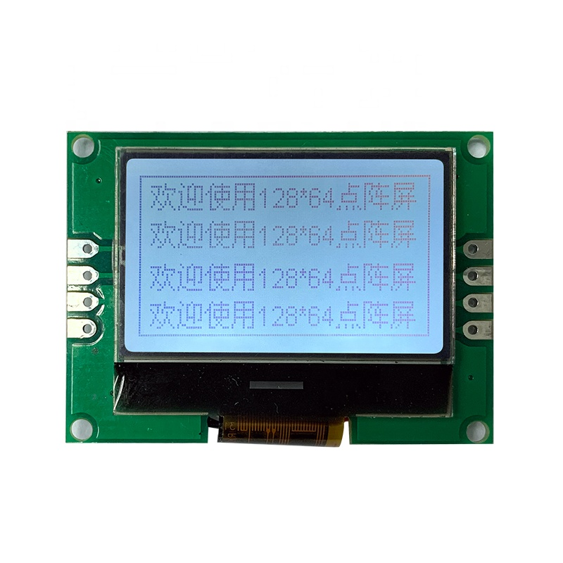 TCC small 12864 stn UC1705 Controller graphic lcd with pcb cog module