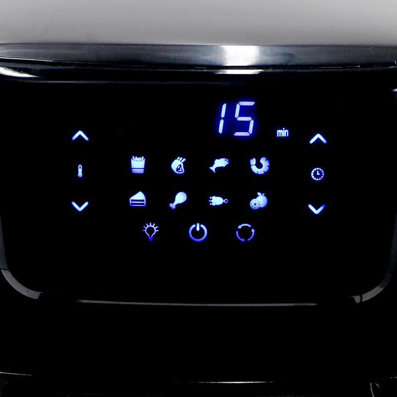 Friteuse à Air électrique de grande capacité, 2000W, 14L, appareil sans fumée, avec écran tactile