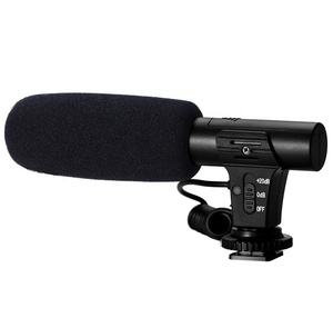 Studio Stereo Camcorder Recording Microphone/Stereo Camera Mounted microphone /Condenser DV Video Camcorder Microphone