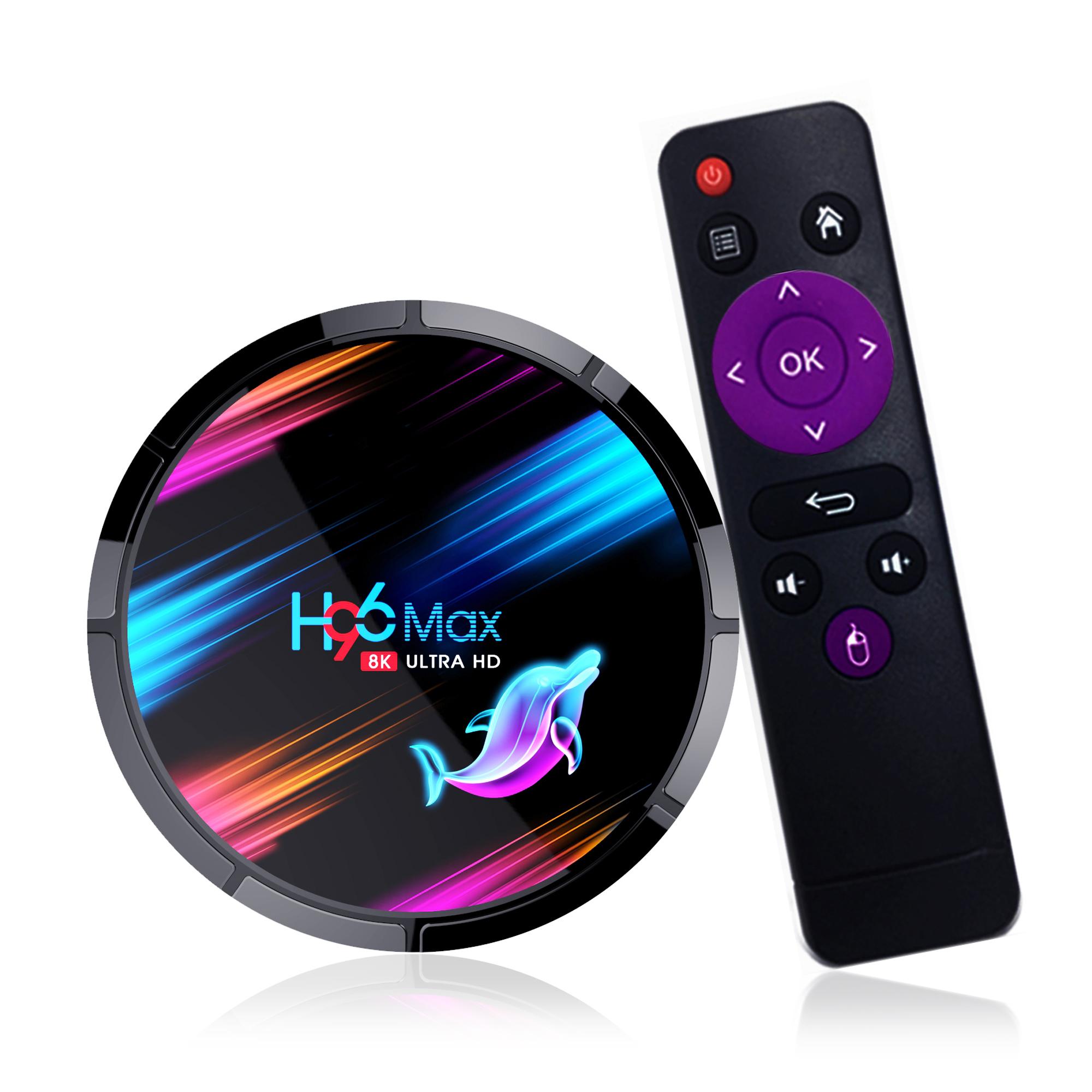 2020 מפעל האחרון אנדרואיד 9.0 טלוויזיה תיבת H96 מקס X3 Amlogic S905X3 שבבים 8K Dual Band Wifi החכם אנדרואיד טלוויזיה תיבת 4GB + 32GB