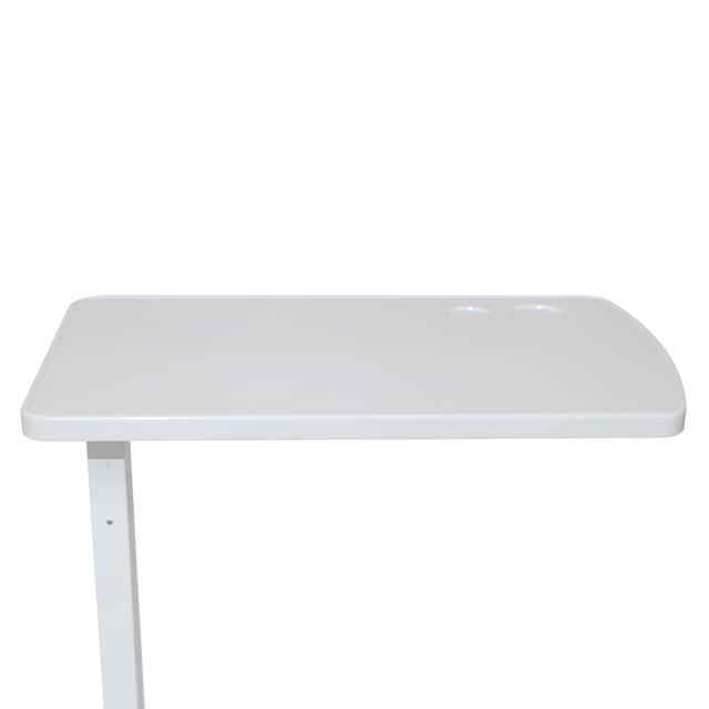 Дешевая медицинская передижная многофункциональная кровать, регулируемая по высоте Больничная прикроватная ужин пациента подвижный над кроватью для обеденного стола