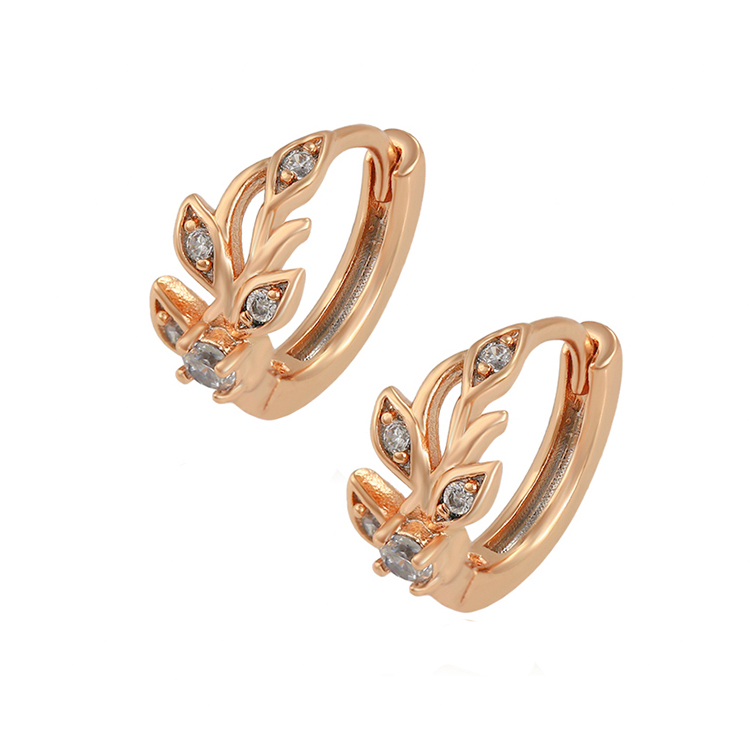 80074 Xuping cheap children jewelry 18k gold color plated small hoop baby earrings